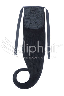 ClipHair Remy Human Hair Wrap Around Ponytail
