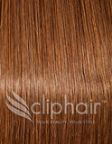 ClipHair Quad Wefted Remy Clip in Human Hair Extensions