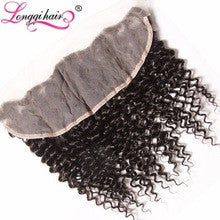 "Deep Wave Lace Frontal Piece 12"" #1B"
