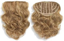 Top Hair European Curly Half Head Clip In #T27/613