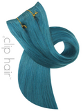 ClipHair Remy Human Hair Weft 15""