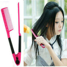 V- Comb Hair Straightening Tool