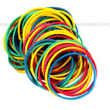 Rubber Bands Multi 100pk