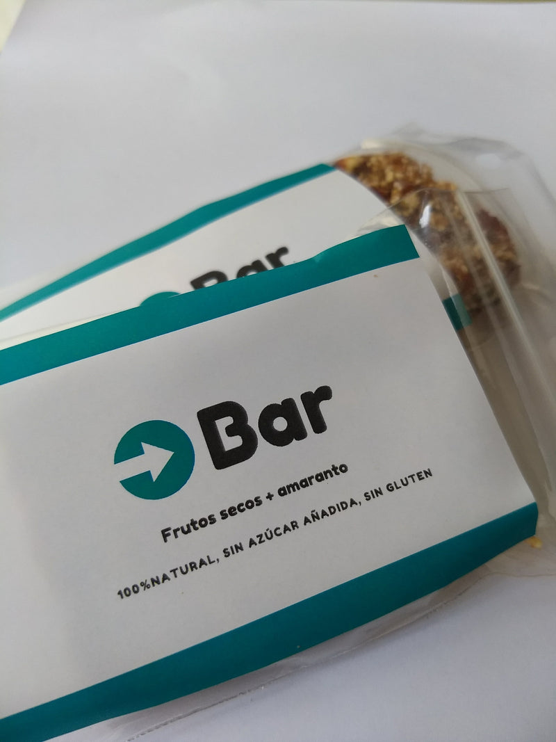 O-Bar Barra energética de Frutos Secos