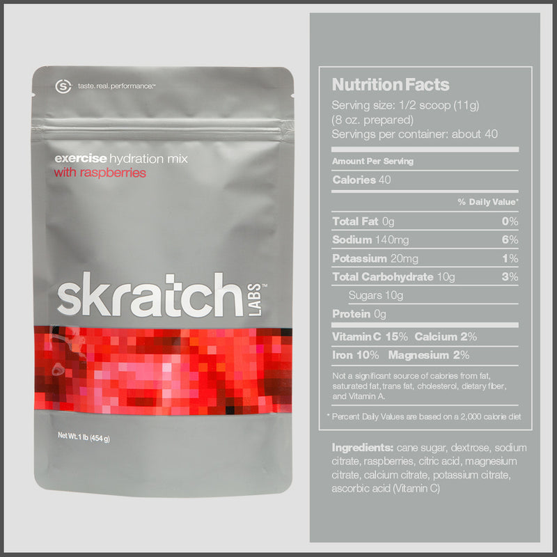 Skratch Labs Excercise Hydration Mix