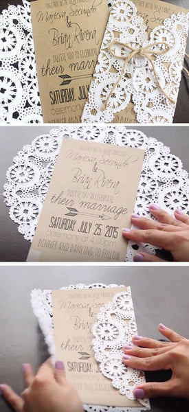 Unique DIY Wedding Invitation Ideas