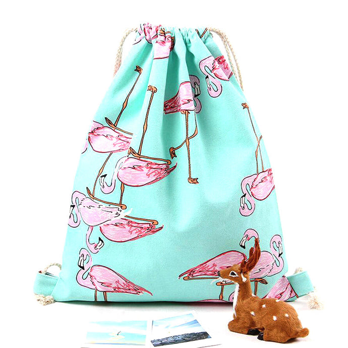 Flamingo Canvas Bag