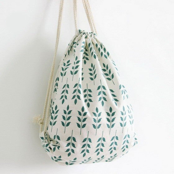 Leafs Canvas Bag