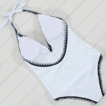 White and Black Moro Swimsuit