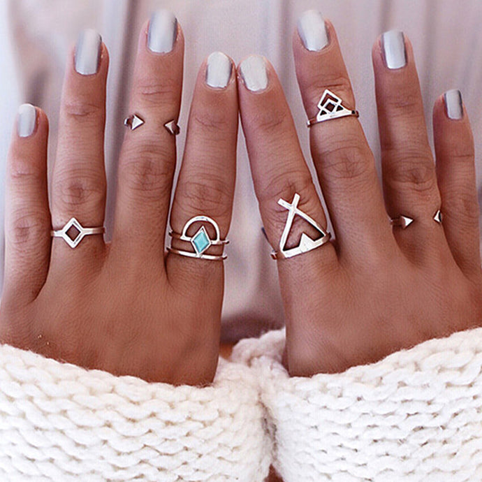 6 Ethnic-Beach Rings