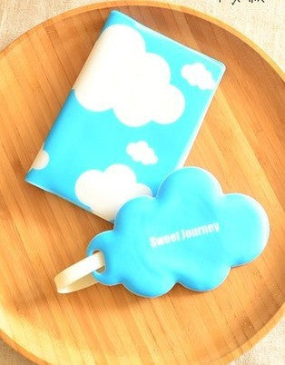 Clouds Passport Cover & Luggage Tag