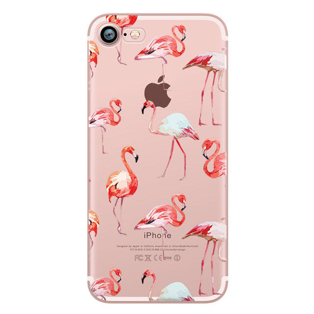 Flamingos iPhone Case