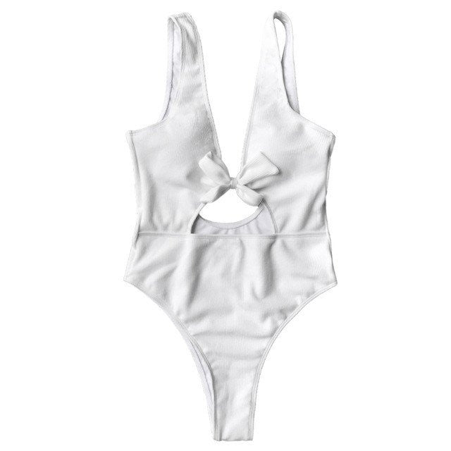White Lumier Swimsuit