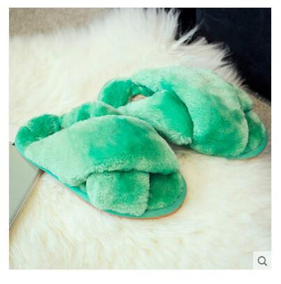 Green ANINE Slippers