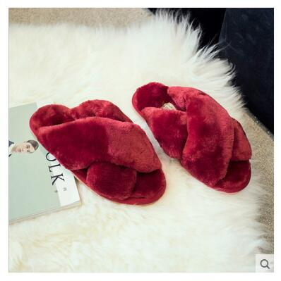Red ANINE Slippers