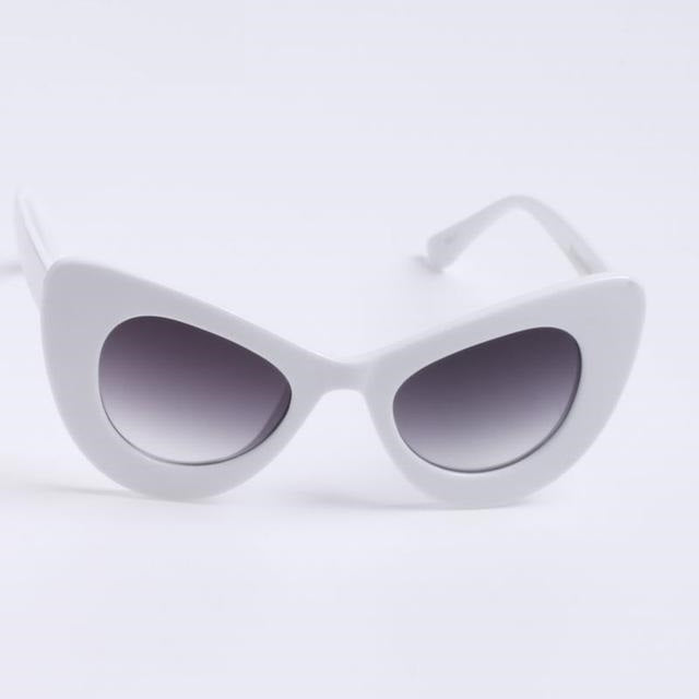 White Gigi Sunglasses