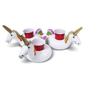 6pcs Unicorn Inflatable Cup Holder