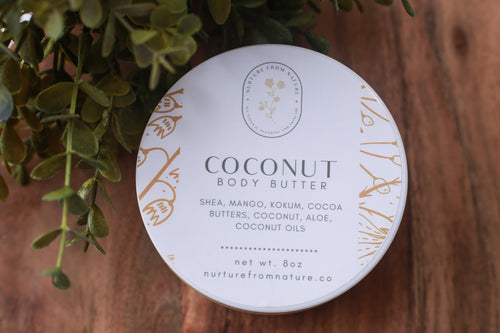 Body Butter - Rich Moisture - Nurture from Nature Sugaring