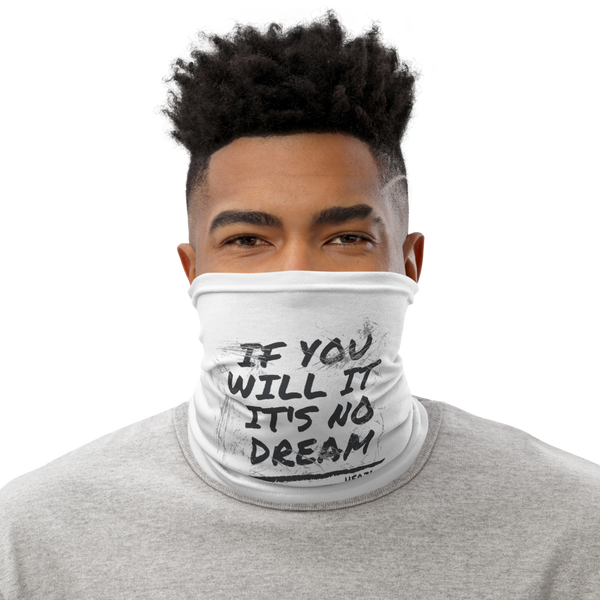If You Will It It Is No Dream - Face Mask