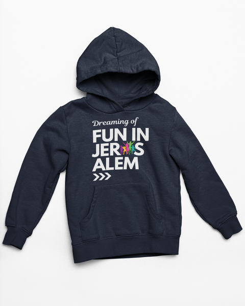 Fun In Jerusalem- Hoodie (Navy)
