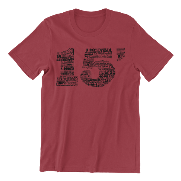 15 Seconds Sderot T-shirt (The Original NU Campaign)
