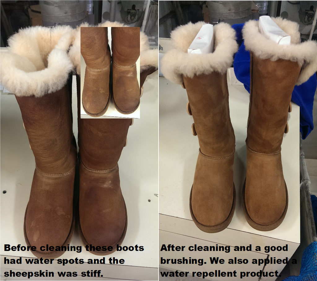 Cleaning UGG™ boots