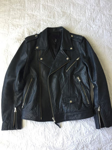Motorcycle Leather Jacket Restoration