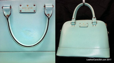 Recoloring on a Kate Spade bag.