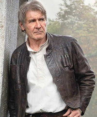 Han Solo Leather Bomber - made by USAjacket.com