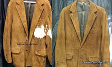 Leather cleaning before and after by LeatherCareUSA.com