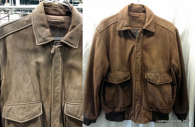Leather Jacket Cleaning Service Leathercareusa