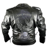 Leather Jacket Sleeve Shortening