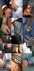 Mens Fashion Bracelet Stacks Compilation