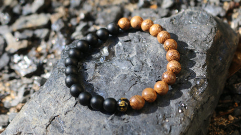 wooden beaded bracelet best tshirt of the month club
