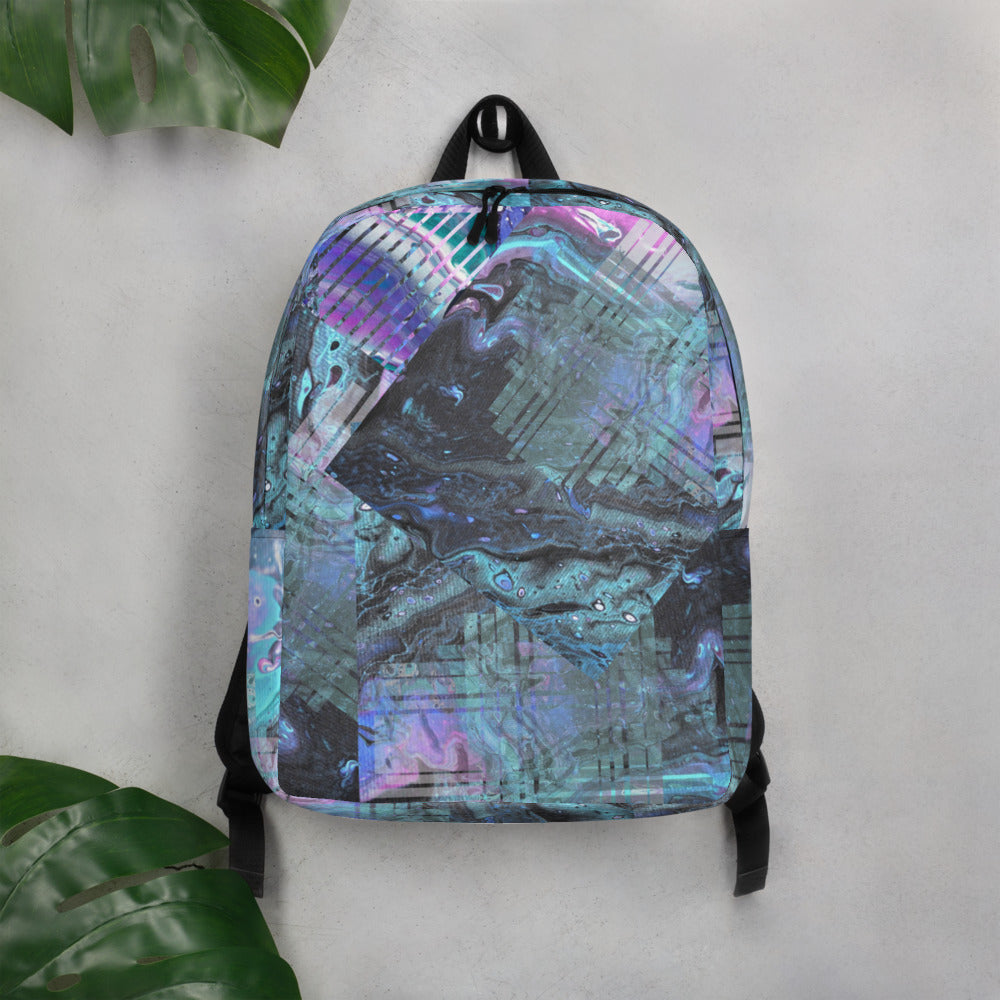 """Lucid Aura"" Minimalist Backpack"
