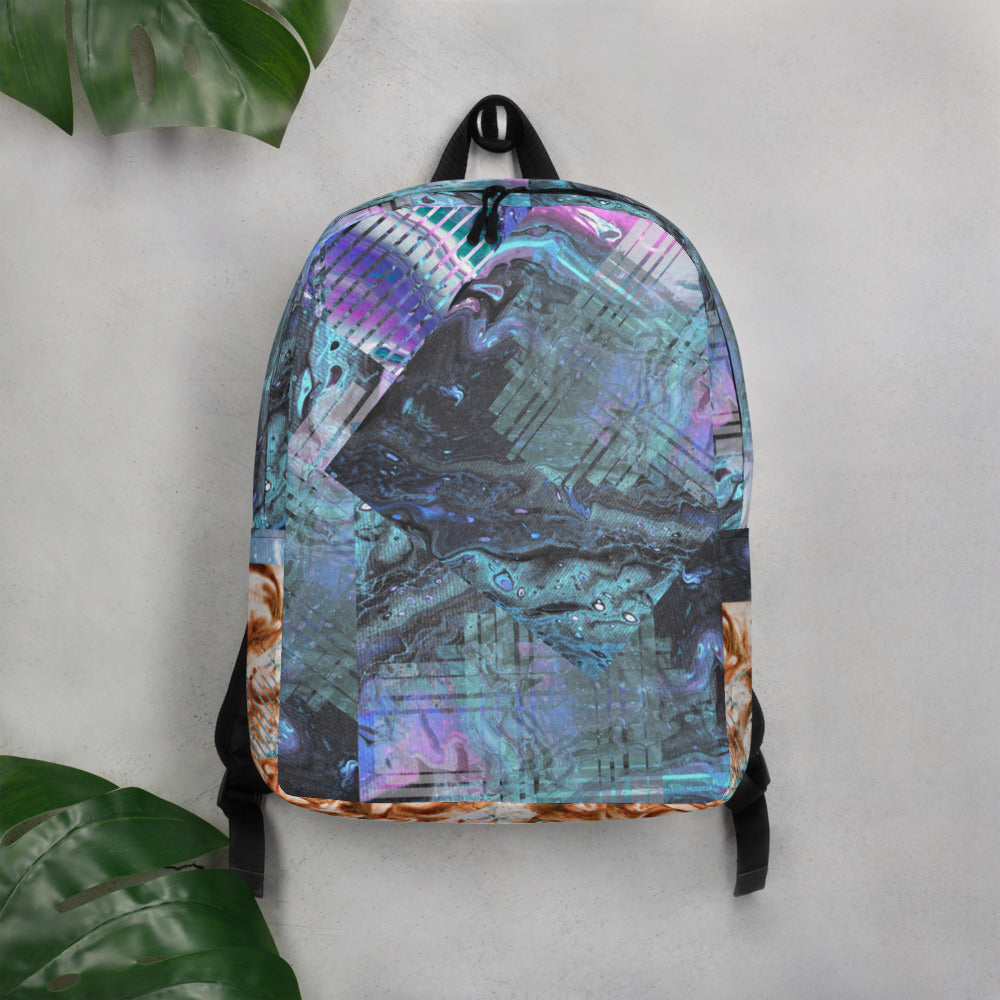 """Lucid Aura"" V2 Minimalist Backpack"