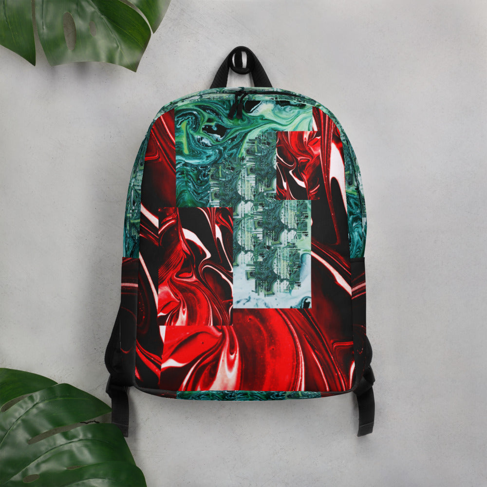 """Lucid Candy"" Minimalist Backpack"