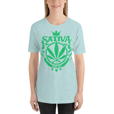Sativa Stoner Chic Casual Tee