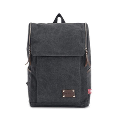 Rugged and Edgy Mens Canvas Backpack