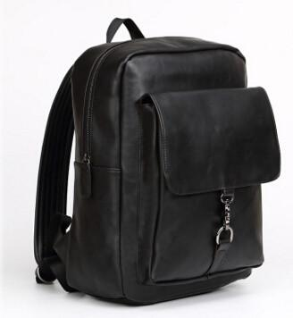 Unisex Rugged Leather Travel Bag / Backpack