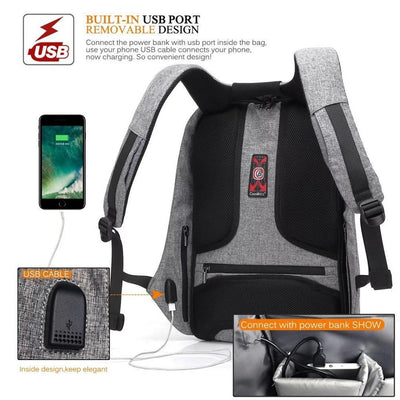 2017 USB Charge Anti-Theft Backpack