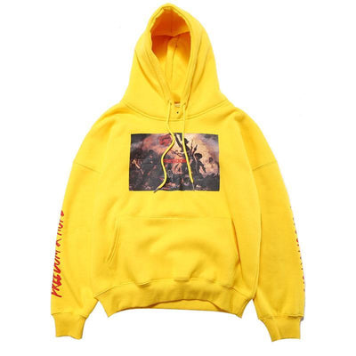 """Painted Struggle"" Fleece Skateboard Sweatshirt"