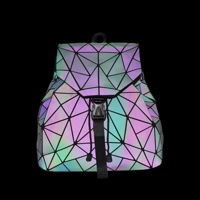 reflective holographic handbag