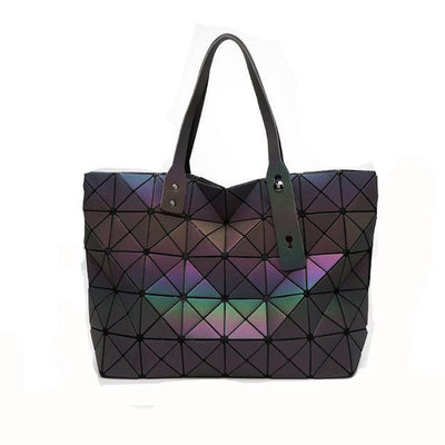 EQcreative Plus reflective holographic handbag