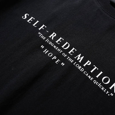 """Self Redemption"" Printed Hip Hop Tee 2018"