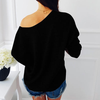 Soft Cross Neck Knitted Pullover
