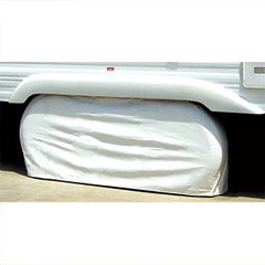 1/pk  White  27 to 29 Diam  Tyre Gard  Doubles  Tire Cover