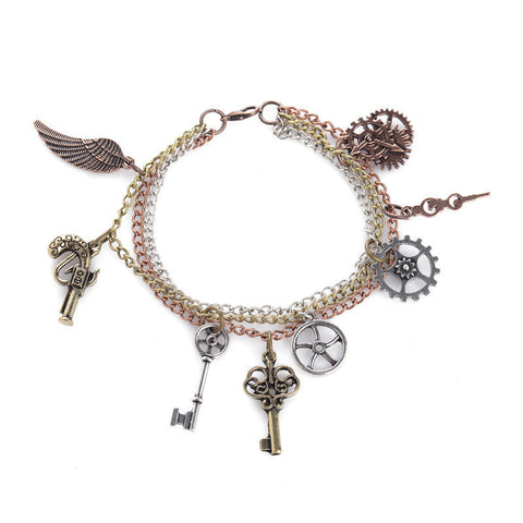 Steampunk Charms Bracelet