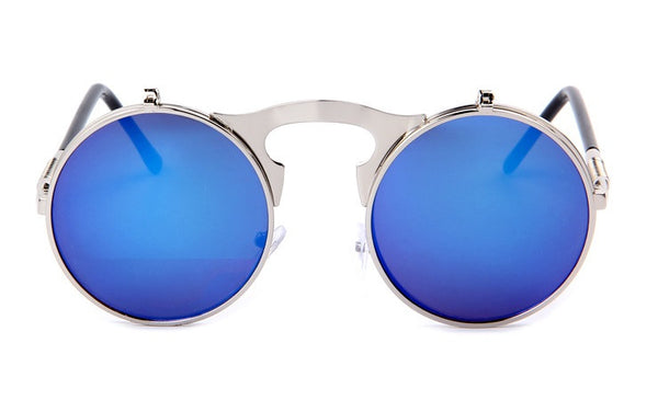 Retro Style Flip-Up Sunglasses