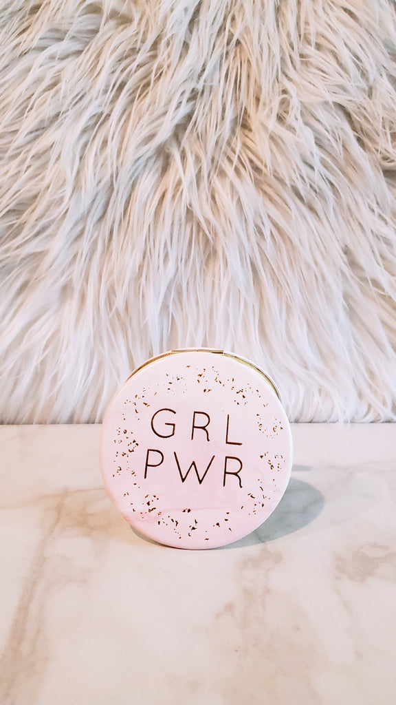 Girl Power Compact Mirror
